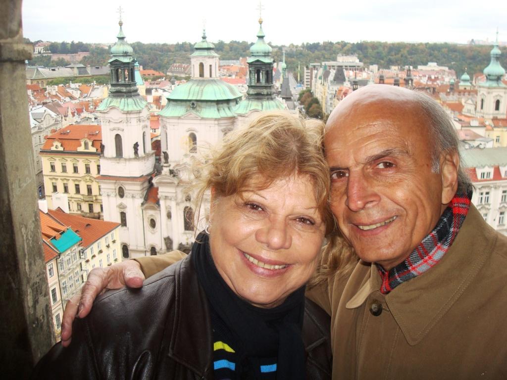 Neusa e Jairo em Praga 2