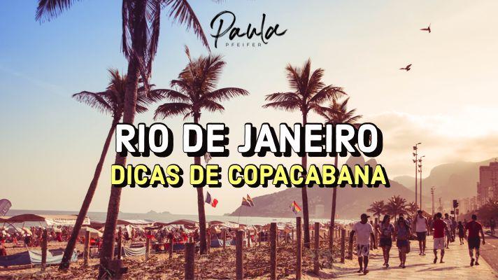 dicas Rio Copacabana