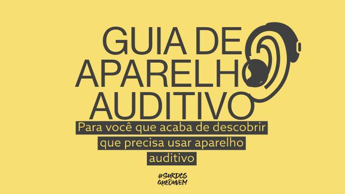 guia aparelho auditivo