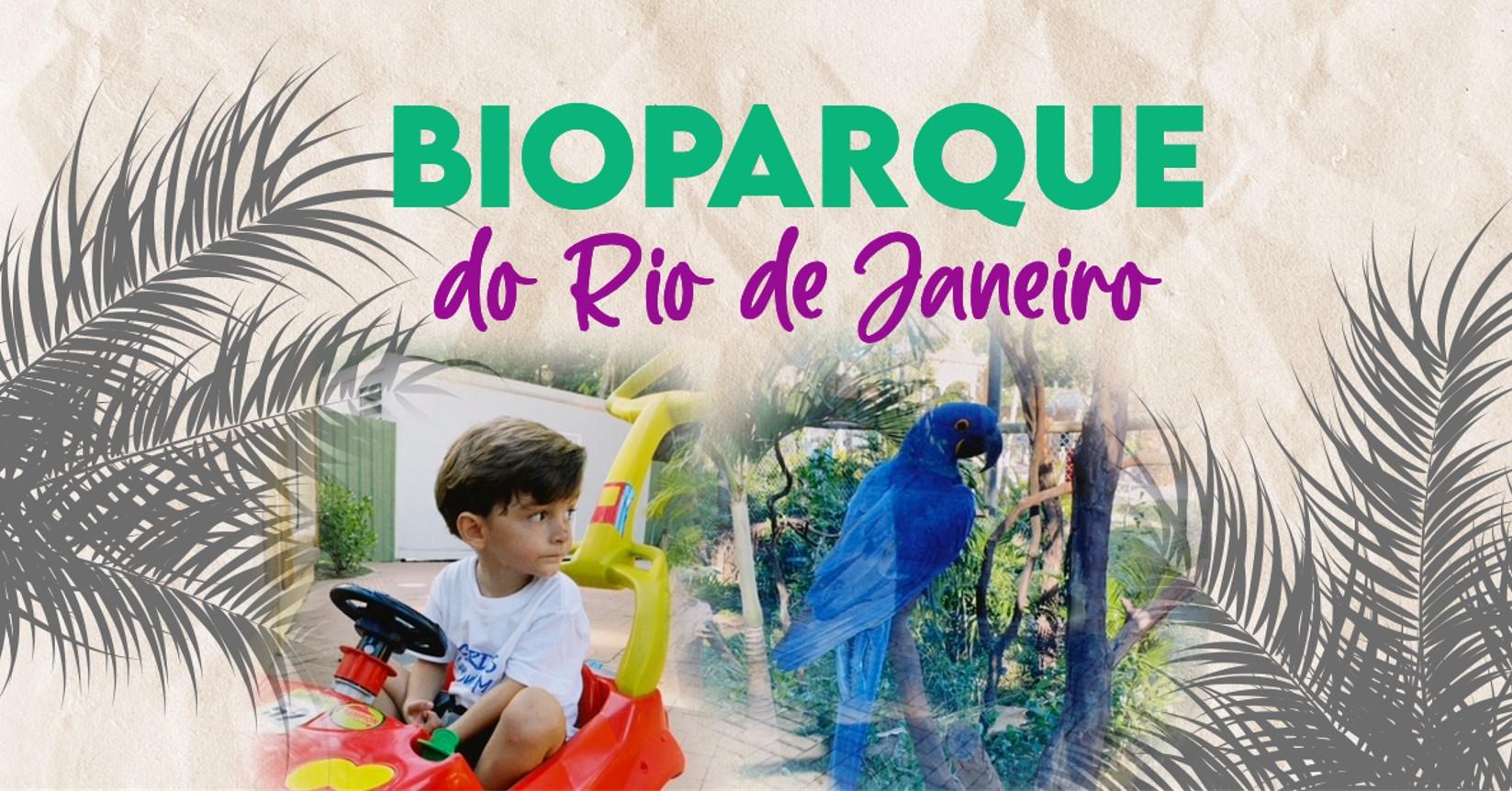 bioparque Rio com crianças